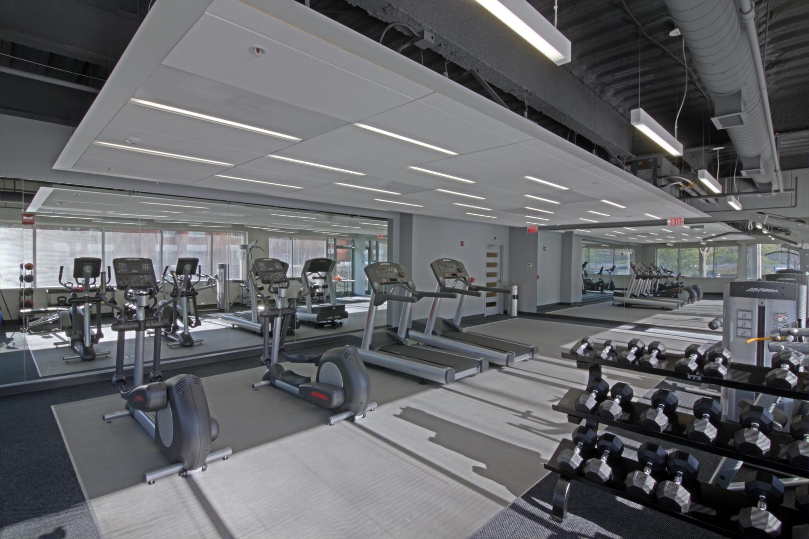 Cameron Run - Cam42 - Fitness Center Mirror
